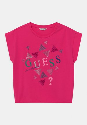 JUNIOR MIDI  - Print T-shirt - jealous pink