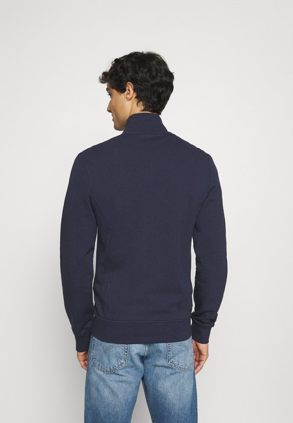Lacoste Bluza rozpinana - navy blue/granatowy Odzież Męska BKNX