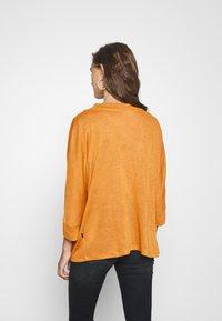 Noisy May - NMMOLLY CARDIGAN - Vest - inca gold - 2