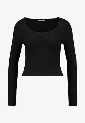 BINDI LONG SLEEVE - Long sleeved top - black