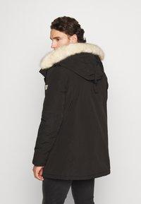 Nagev - Zimní kabát - black - 2