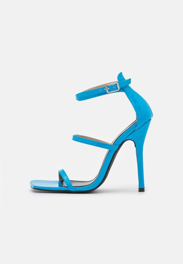 NICOLINA - Sandales - blue