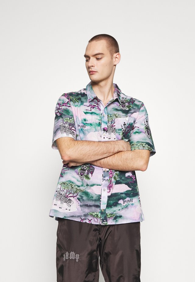 YANGA BUTTON UP - Skjorta - multicolor