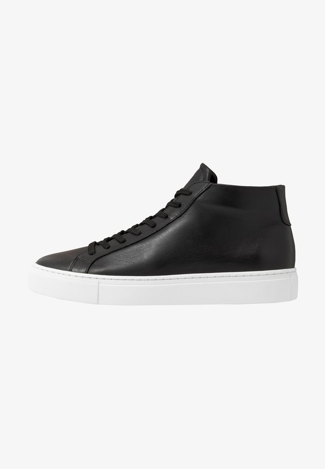 TYPE MID SOLE - High-top trainers - black