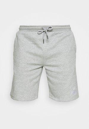 CROSBY - Shorts - grey marl/white