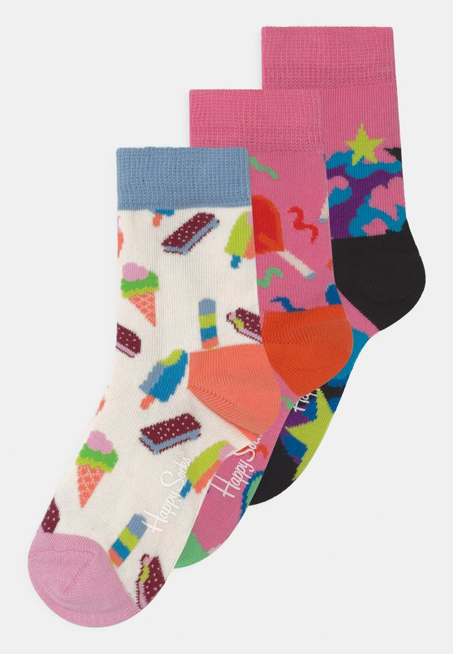 PARTY 3 PACK - Socks - multicoloured