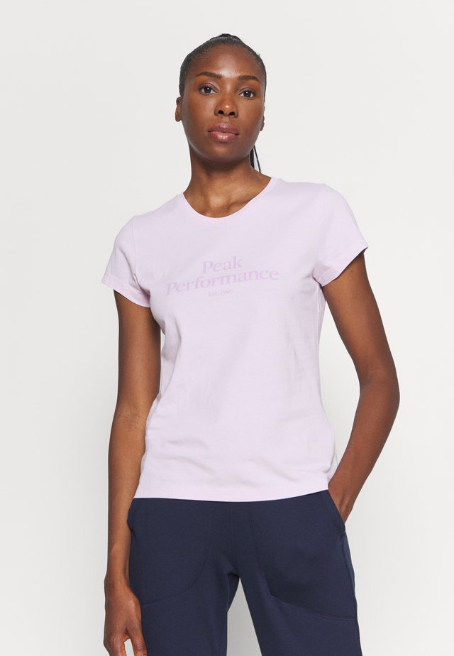 ORIGINAL TEE - T-shirts med print - cold blush