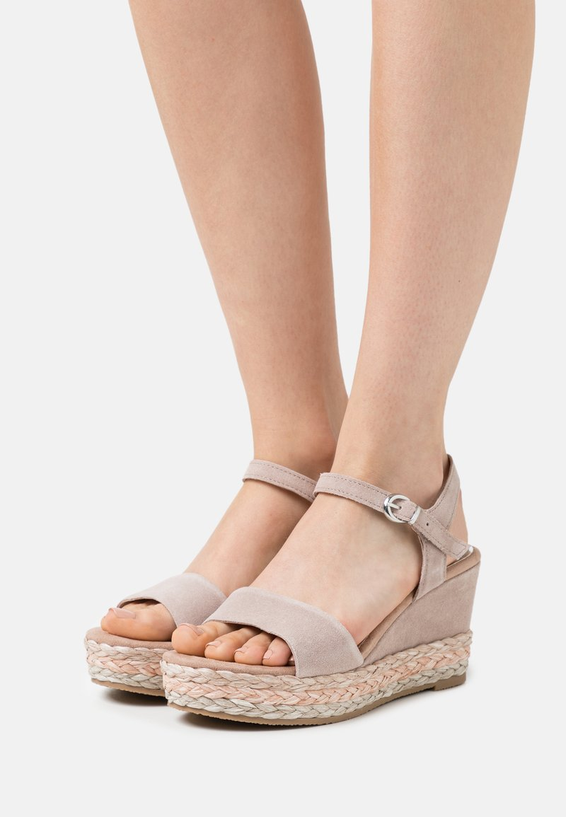 Marco Tozzi - BY GUIDO MARIA KRETSCHMER - High heeled sandals - nude