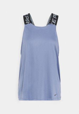 DRY ELASTIKA TANK - Sports shirt - world indigo/black