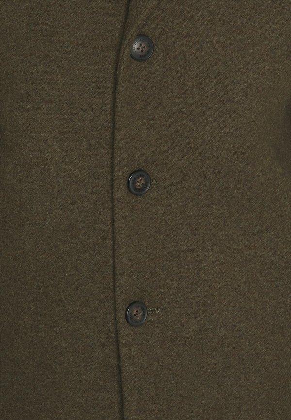Les Deux MONTGOMERY COAT - KrÓtki płaszcz - olive/oliwkowy Odzież Męska XNKL