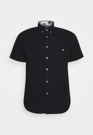 RODNEY TEXTURED SHIRT - Shirt - black