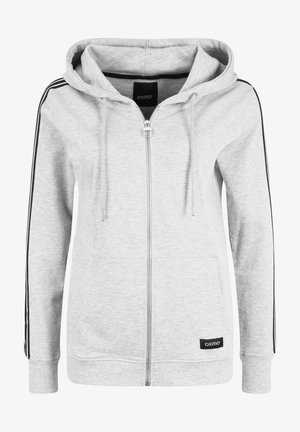 GABBY - Zip-up hoodie - light grey melange