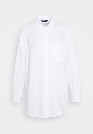 VOILE SHIRT - Button-down blouse - white