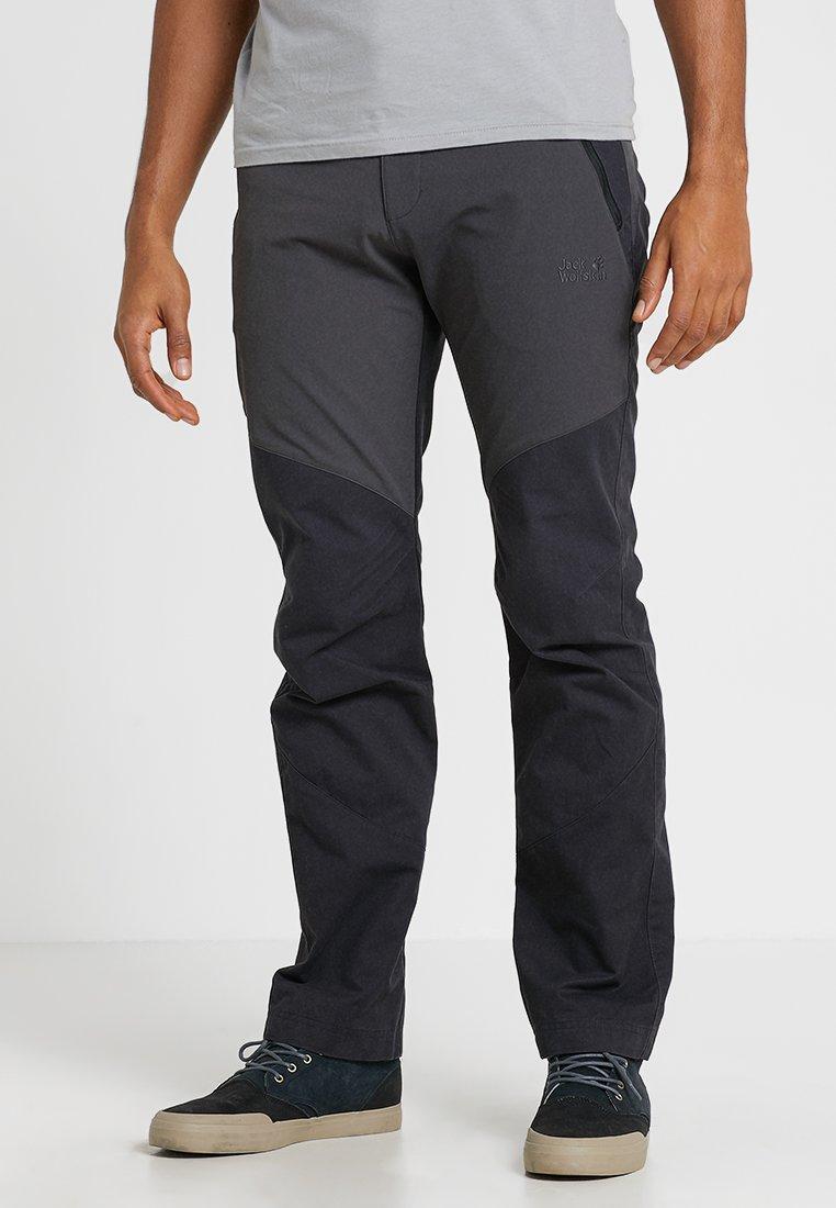 Jack Wolfskin - DRAKE FLEX PANTS - Outdoor trousers - phantom
