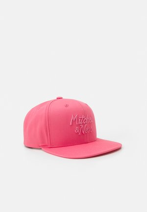 BRANDED STACKED CLASSIC SCRIPT - Cap - pink