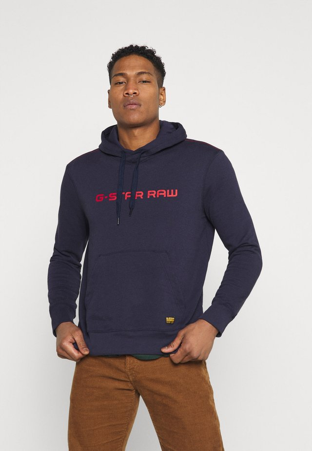 GRAPHIC CORE HDD SW L\S - Hoodie - sartho blue