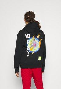 Jordan - WHY NOT HOODIE - Sweatshirt - black/white - 2
