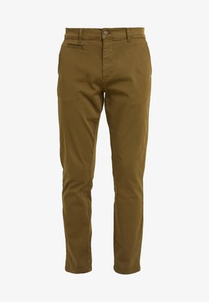 ORTA PANTS - Chino kalhoty - dark olive green