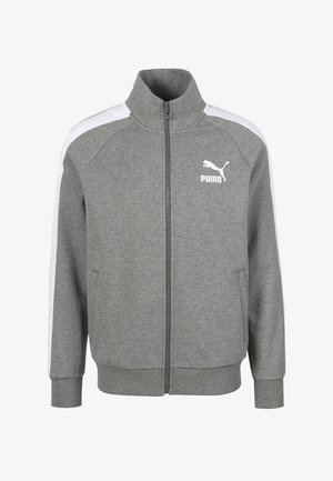 Trainingsjacke - medium gray heather