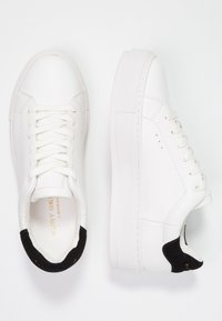 Kurt Geiger London - LANEY - Sneakersy niskie - white - 3