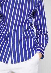 Polo Ralph Lauren - GEORGIA LONG SLEEVE SHIRT - Košile - blue/white - 4