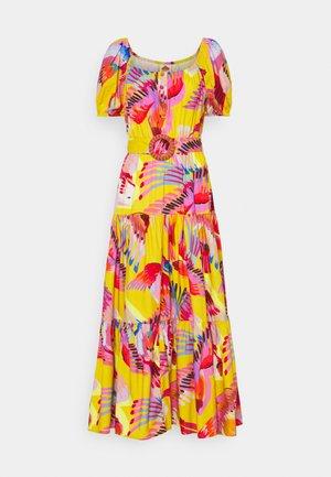 DRESS - Day dress - neon macaws