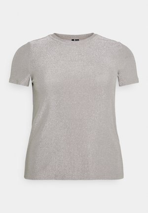 VMADALYN GLITTER - Basic T-shirt - silver sconce