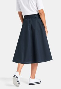 PETER HAHN - ROCK ROCK - A-line skirt - marine - 2