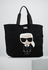 KARL LAGERFELD - Bolso shopping - black - 0
