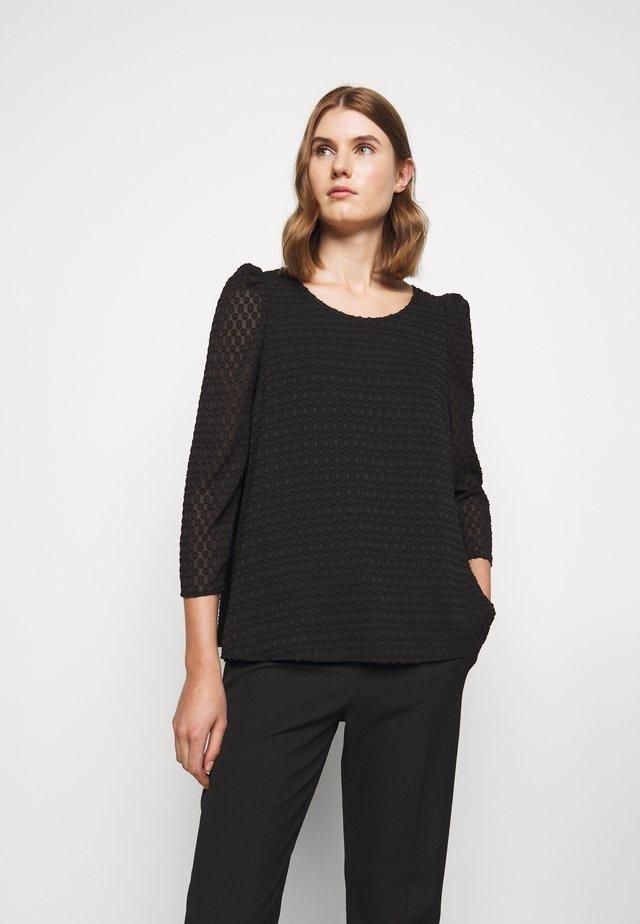 BANCPOIS - Blouse - noir