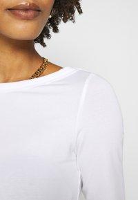 Anna Field - T-shirt basic - white - 4