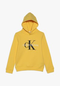 Calvin Klein Jeans - MONOGRAM HOODIE UNISEX - Mikina skapucí - yellow - 0