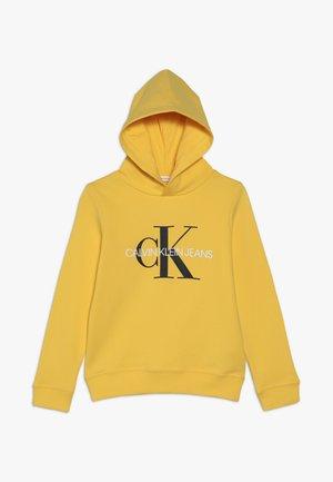 MONOGRAM HOODIE - Jersey con capucha - yellow