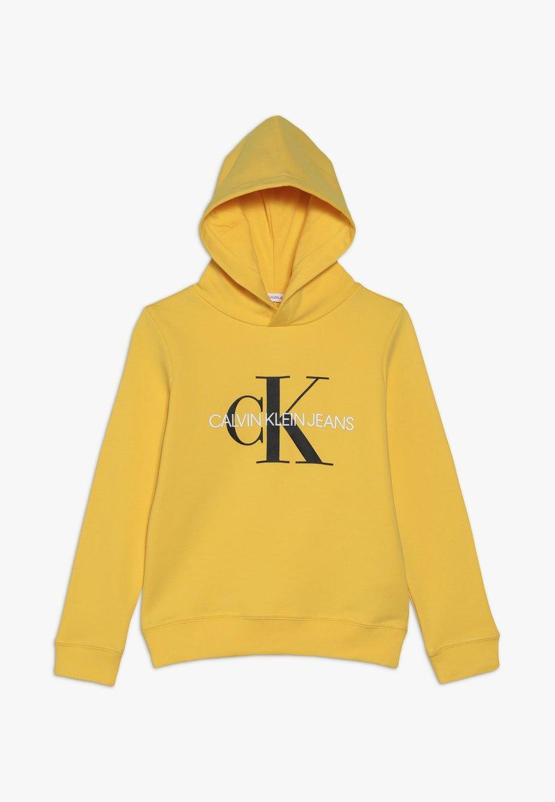 Calvin Klein Jeans - MONOGRAM HOODIE UNISEX - Mikina skapucí - yellow