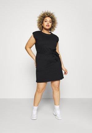 CARJENNY LIFE DRESS - Jersey dress - black