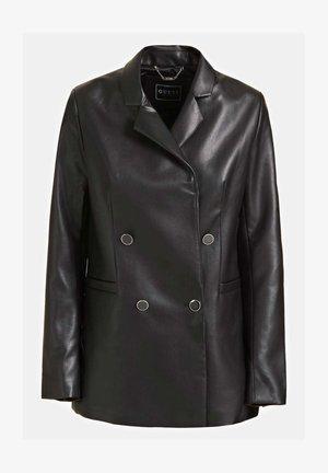 Faux leather jacket - noir