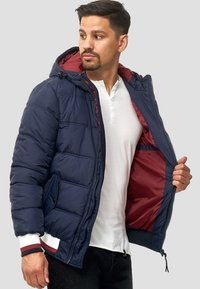 INDICODE JEANS - REGULAR  FIT - Winter jacket - navy