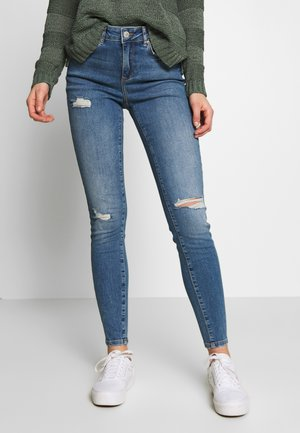 TERESA  SKINNY DEST - Jeans Skinny Fit - light blue denim
