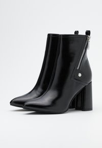 ONLY SHOES - ONLBRODIE ZIP BOOT  - Botki - black - 2
