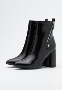 ONLY SHOES - ONLBRODIE ZIP BOOT  - Støvletter - black - 2