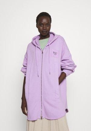Zip-up sweatshirt - lilla