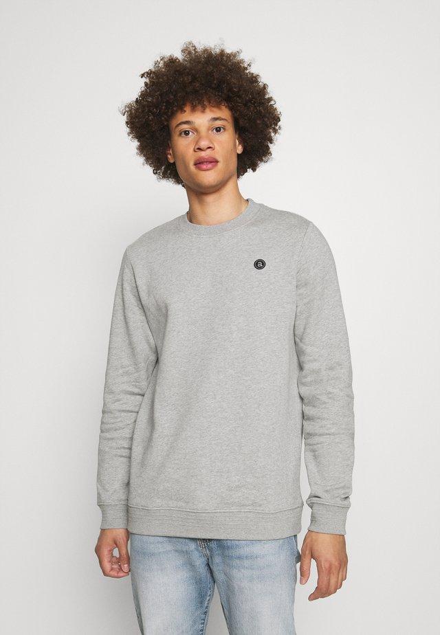 AKALLEN CREW NECK - Sweatshirt - light grey melange