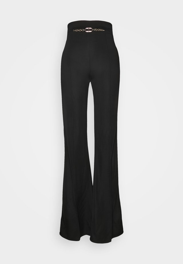 WOMEN'S PANT'S - Trousers - black