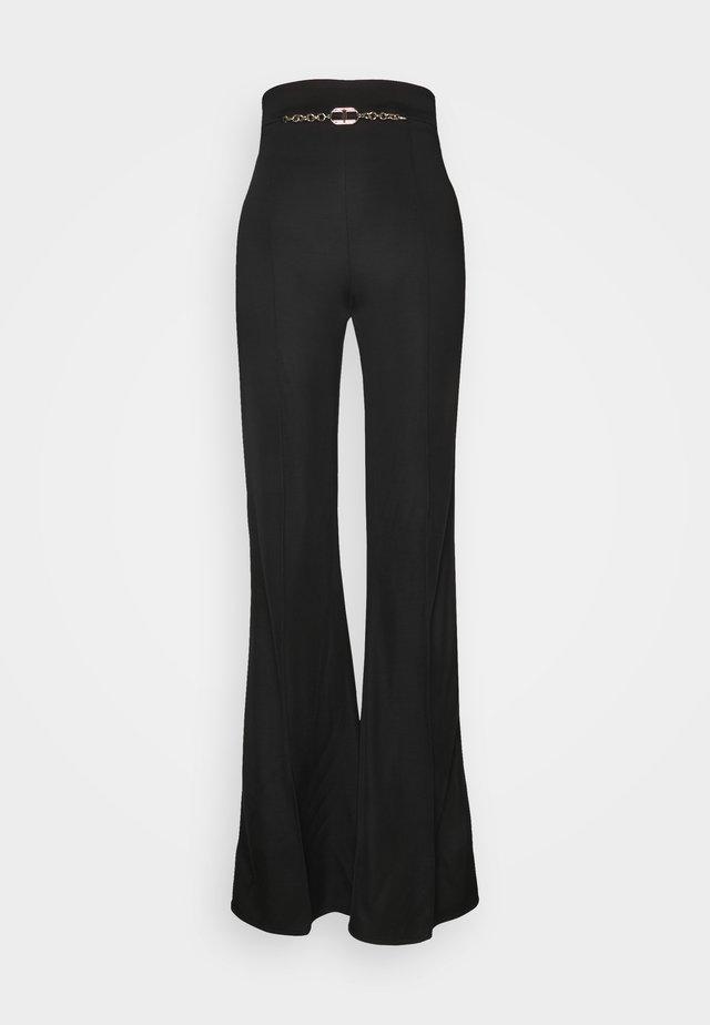 WOMEN'S PANT'S - Pantalon classique - black