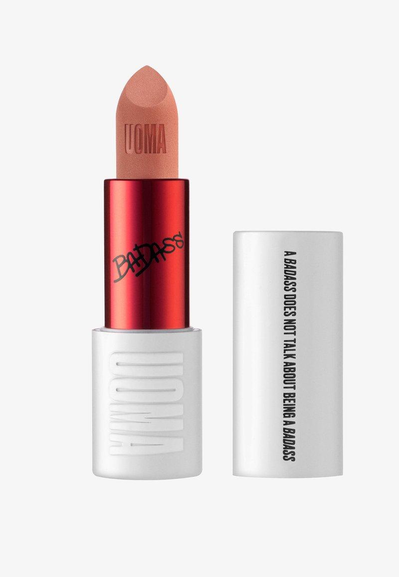 UOMA - BADASS ICON CONCERNTRATED MATTE LIPSTICK - Lipstick - maya
