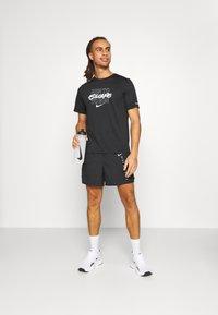 Nike Performance - Sportovní kraťasy - black/silver - 1