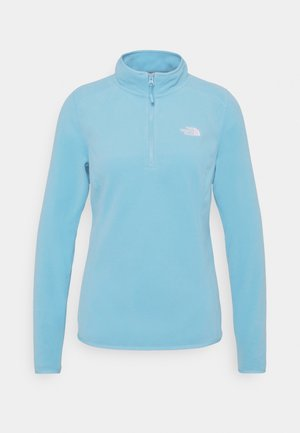 WOMEN'S GLACIER 1/4 ZIP - Fleecetrøjer - ethereal blue