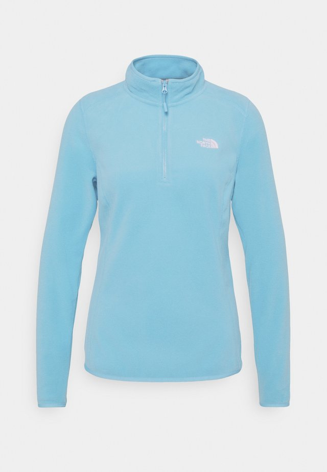WOMENS GLACIER ZIP - Fleece jumper - ethereal blue
