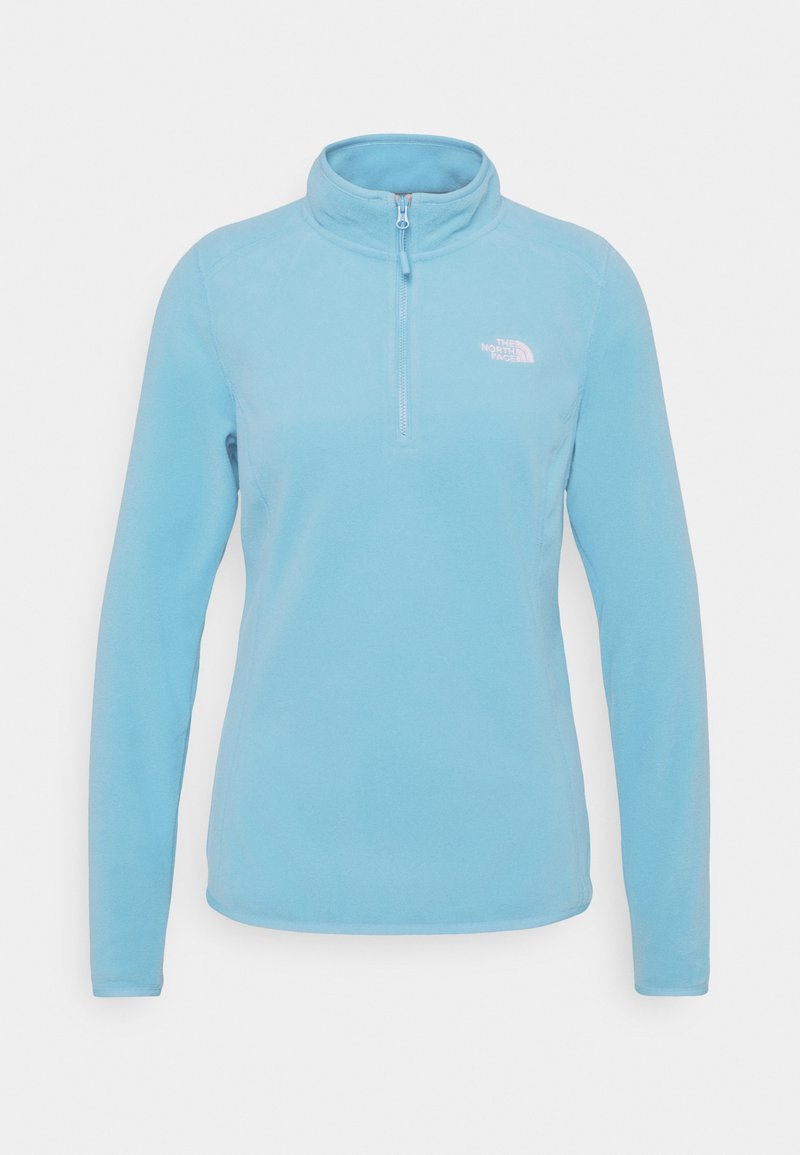 The North Face - WOMENS GLACIER ZIP - Fleecetrøjer - ethereal blue