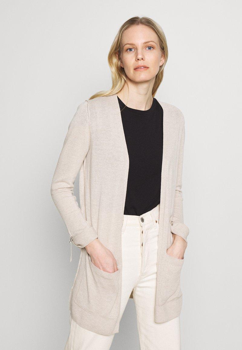 Esprit - UTILITY FINE - Cardigan - light beige